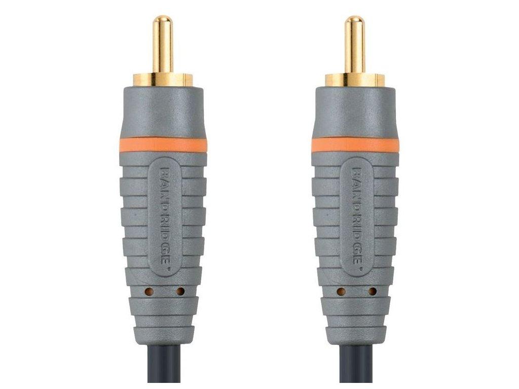 Bandridge digitální koaxiální audio kabel, 2m, BAL4802