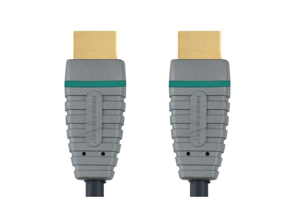Bandridge HDMI digitální kabel s Ethernetem, 2m, BVL1202