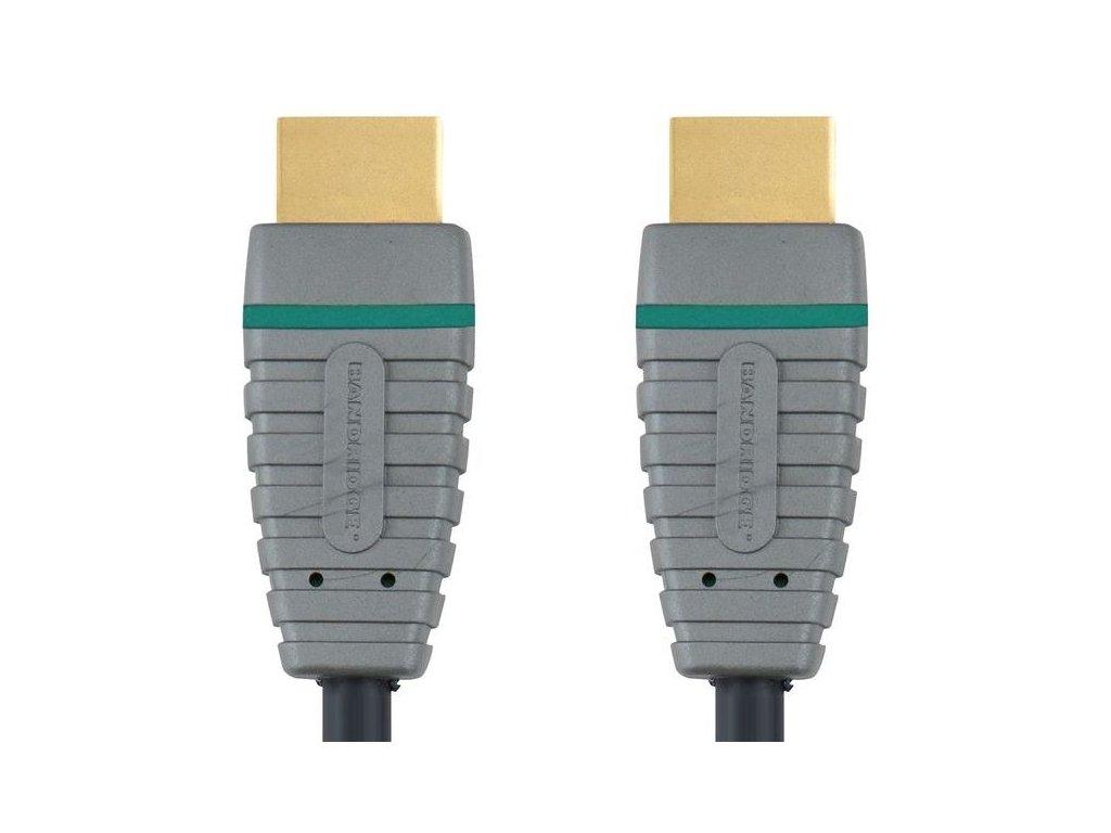 Bandridge HDMI digitální kabel s Ethernetem, 5m, BVL1205