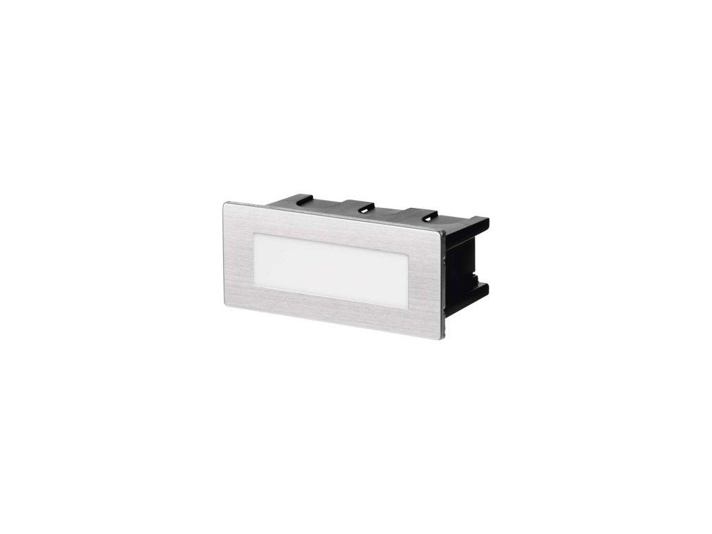 LED orientační vestavné svítidlo - 1,5W, 55lm, NW, 123x53mm, IP65 - Emos (ZC0110)