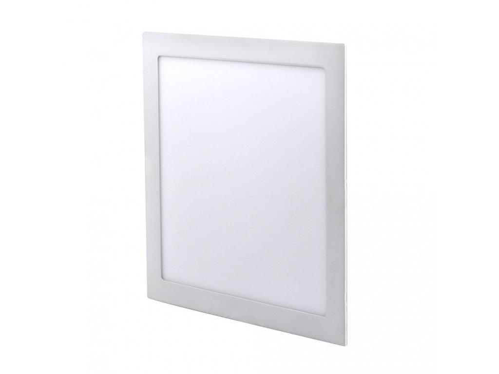 LED podhledový mini panel - 24W, 1800lm, NW - 4000K, čtverec, bílý - Solight (WD126)
