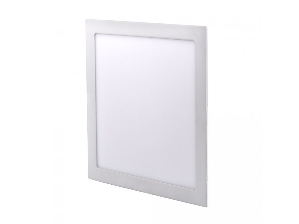 LED podhledový mini panel - 24W, 1800lm, NW - 4000K, čtverec, bílý - Solight (WD126)