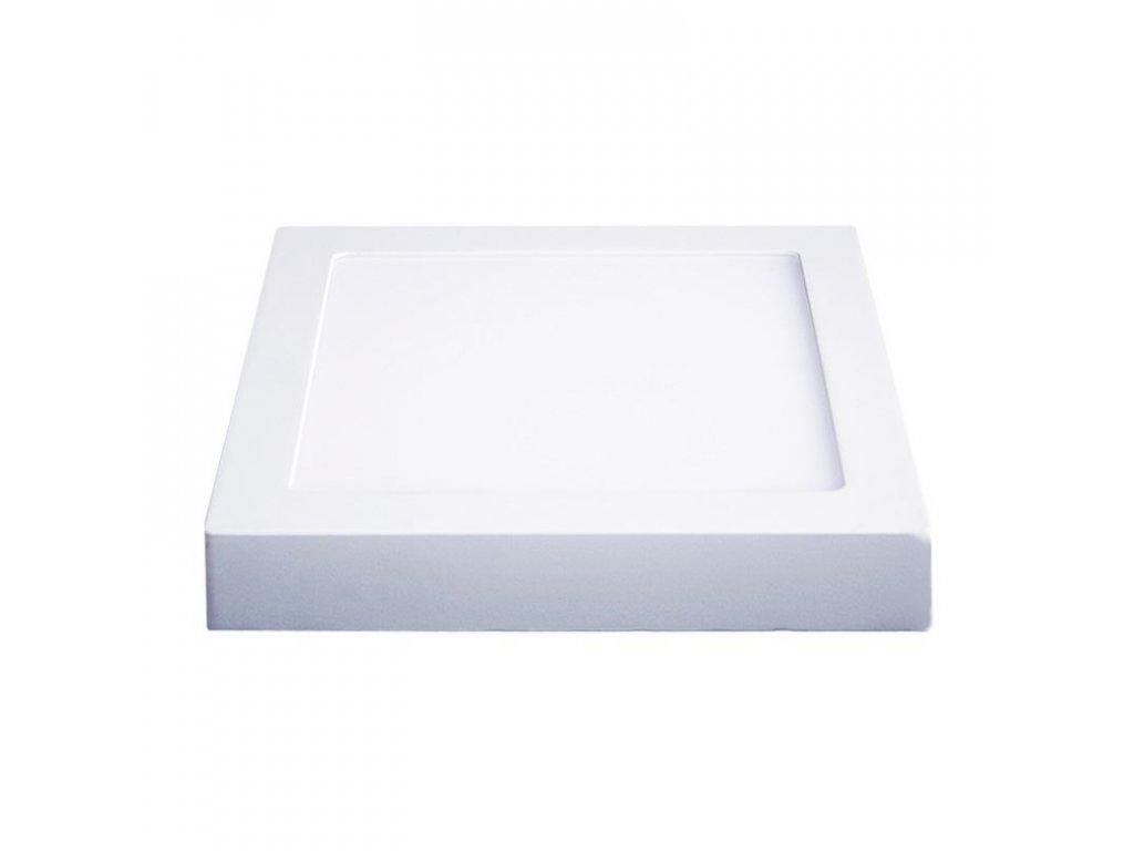 Solight LED panel přisazený, 18W, 1530lm, 3000K, čtvercový, bílý (WD118)