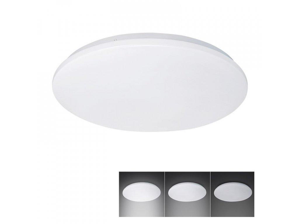 LED stropní světlo, 3-stupňové stmívání, 18W, 1260lm, 4000K, kulaté, 33cm - Solight (WO726)