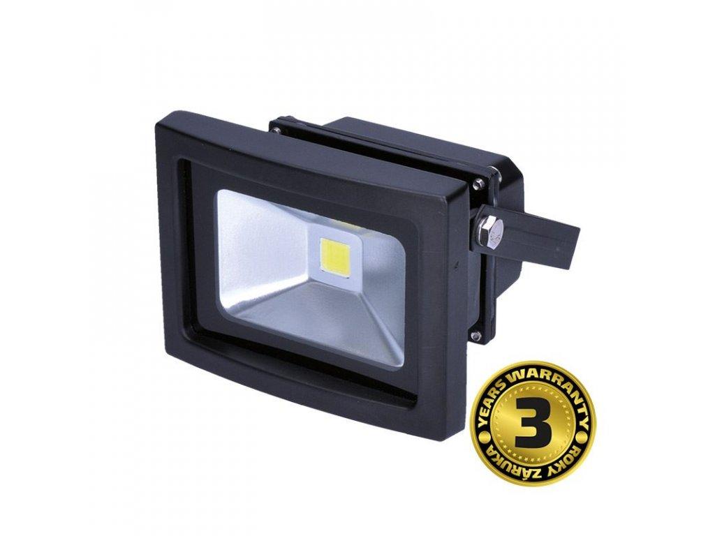 LED venkovní reflektor - 10W, 700lm, IP65, černá (WM-10W-E)