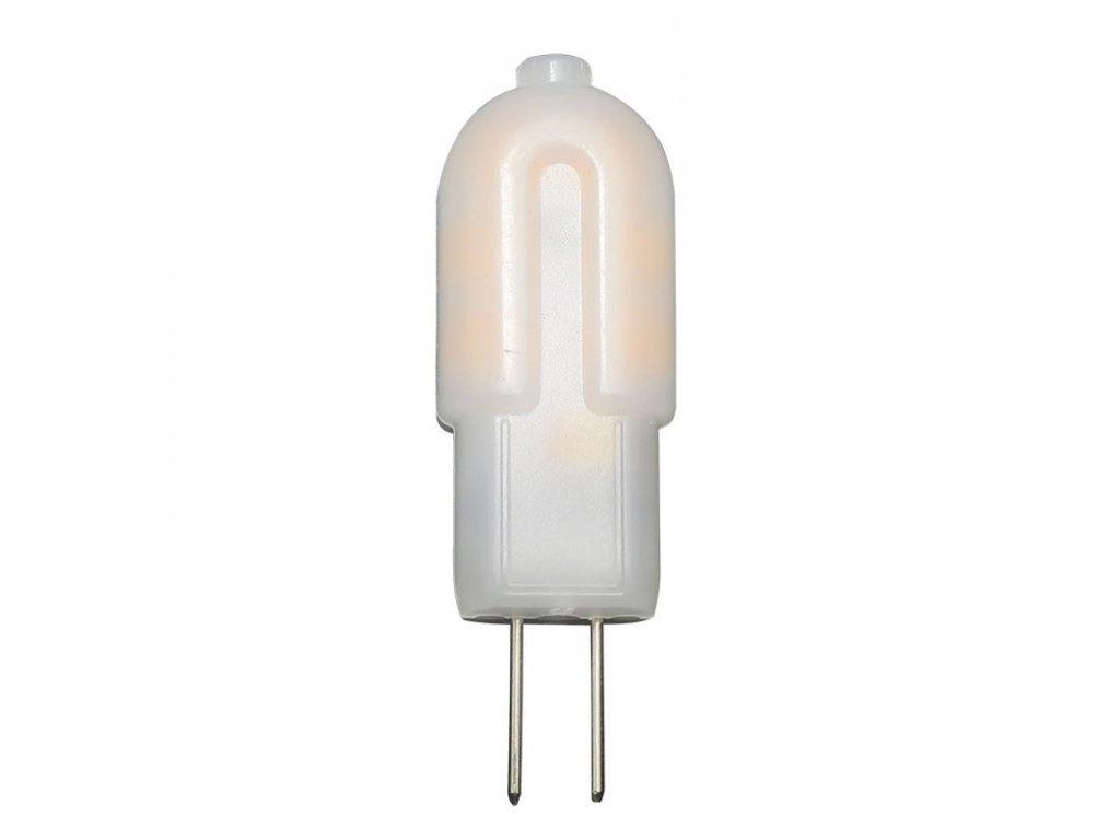 LED žárovka - Classic JC A++ - 1,5W, 120lm, G4, teplá bílá (WW), 300° - Solight (WZ323)