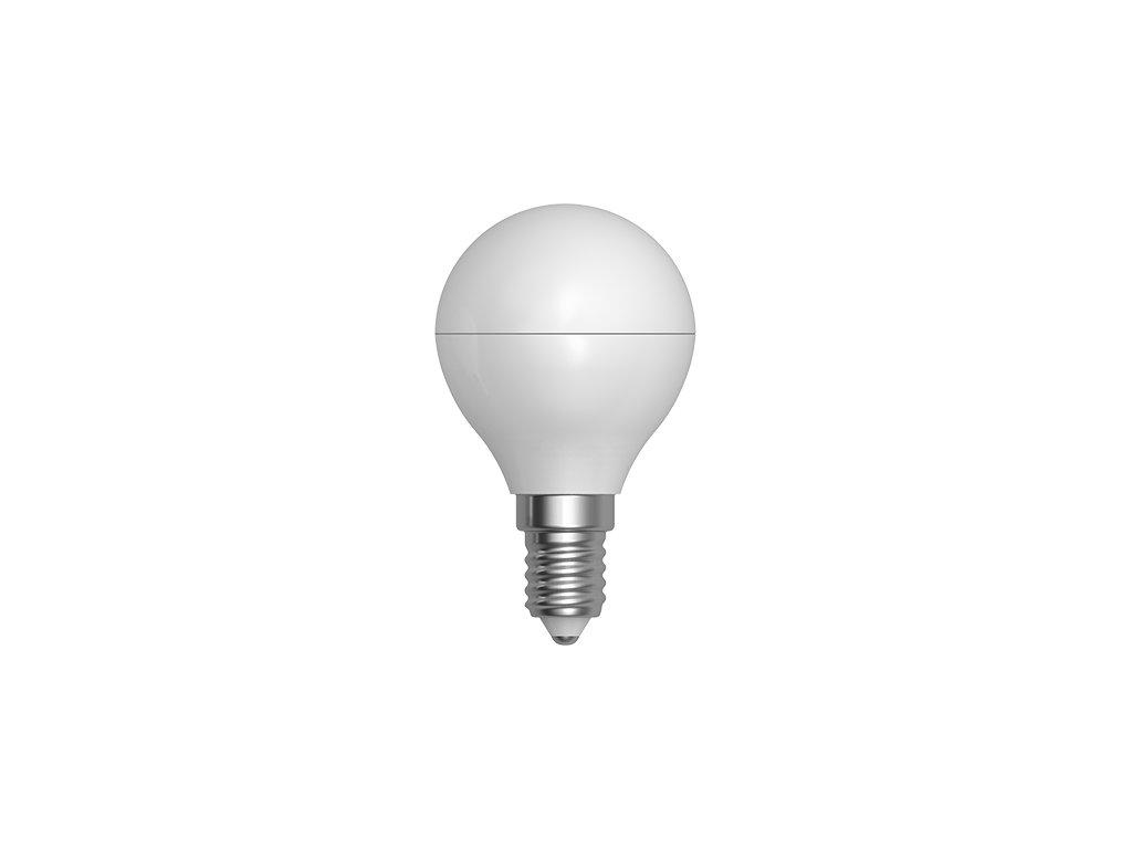 LED žárovka miniglobe 3W E14 6400K CW SKYLIGHTING (G45PA-1403F)