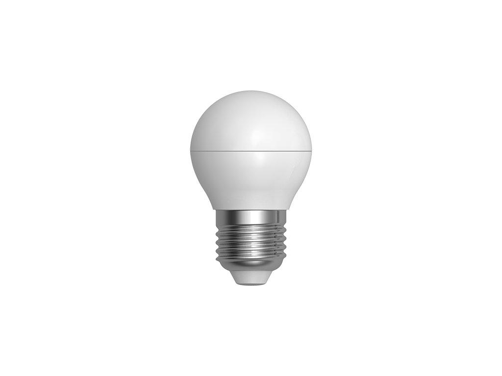 LED žárovka miniglobe 7W E27 6400K CW SKYLIGHTING (G45PA-2707F)