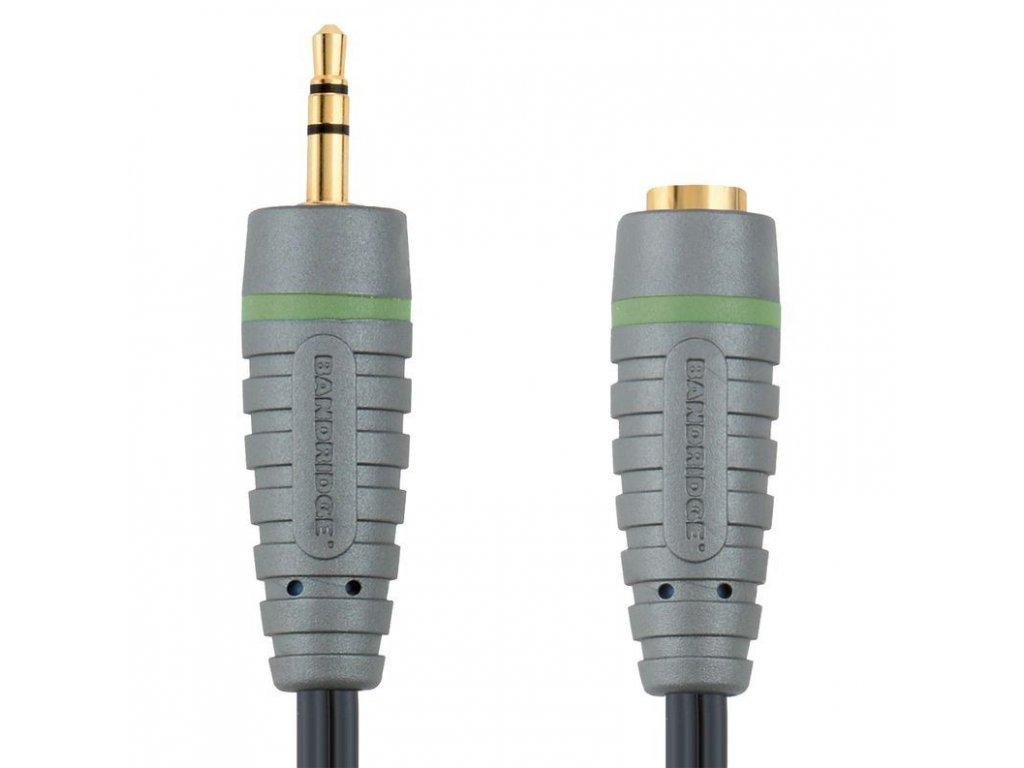 Bandridge prodlužovací kabel pro sluchátka, 5m, BAL3605
