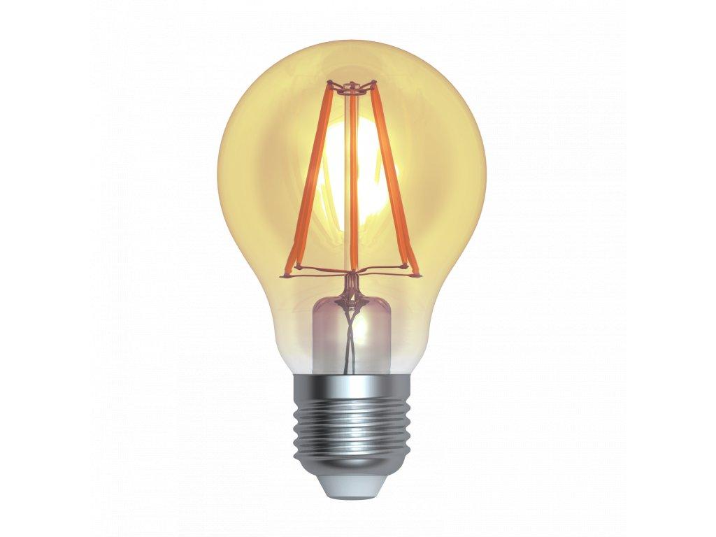 LED žárovka standardní amber 4W E27 2200K WWW SKYLIGHTING (HPFL-2704A)