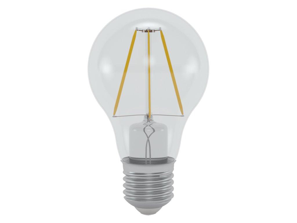 LED žárovka standardní čirá 6W E27 6400K CW SKYLIGHTING (HPFL-2706F)