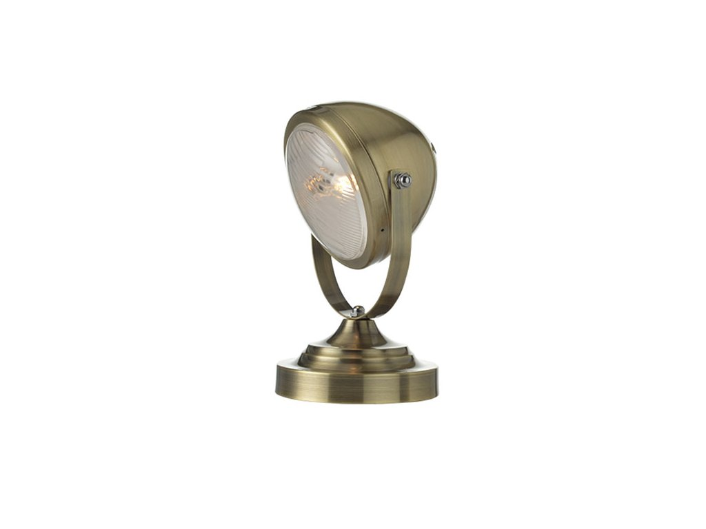 Stolní lampička   Ø16cm, saténový bronz   Aca Lighting (ML306131TBR)