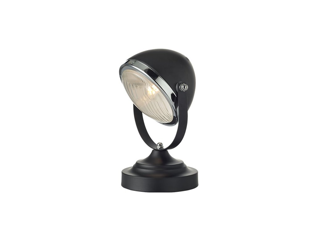 Stolní lampička   Ø16cm, matná černá   Aca Lighting (ML306131TBK)