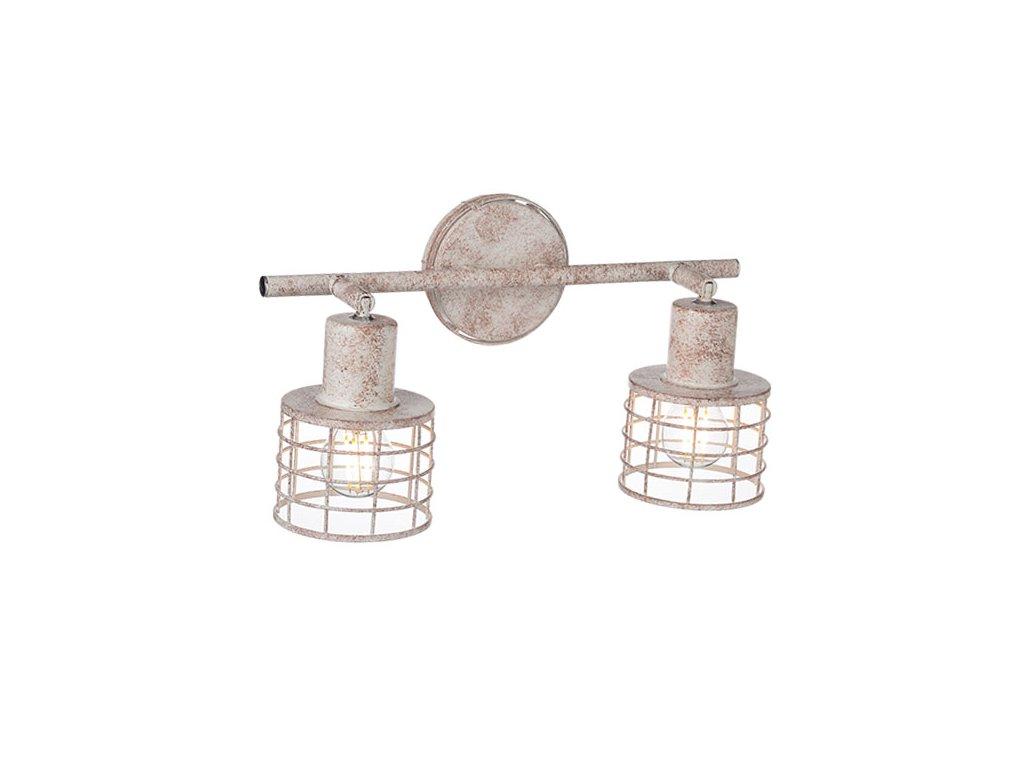 Nástěnné a stropní svítidlo   Ø9,5x7,4cm, bílá rez   Aca Lighting (GN732CAW)