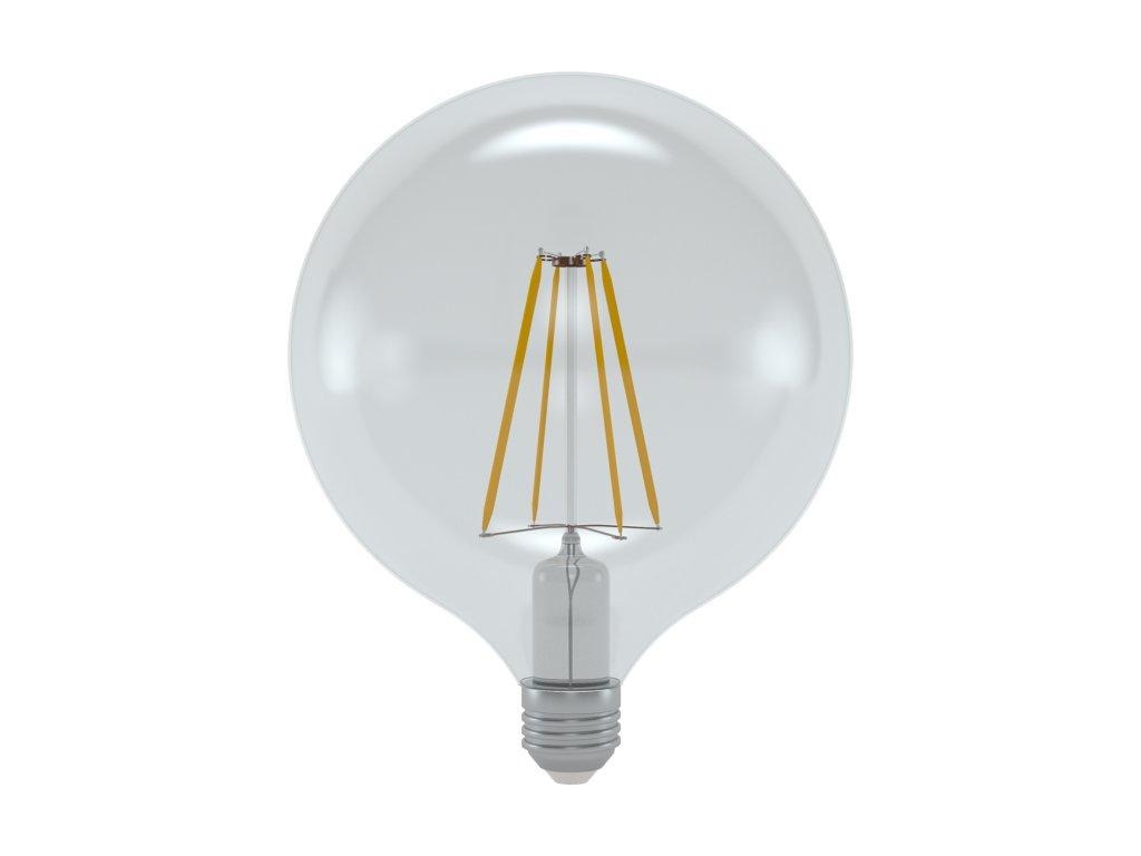 LED žárovka globe čirá 10W E27 6400K CW SKYLIGHTING (GNFL-12510F)