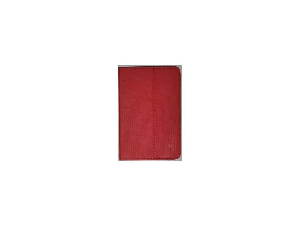 Solight univerzální pouzdro - desky z polyuretanu pro tablet nebo čtečku 7'', červené