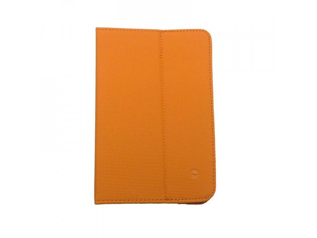 Solight univerzální pouzdro - desky z polyuretanu pro tablet nebo čtečku 7'', oranžové