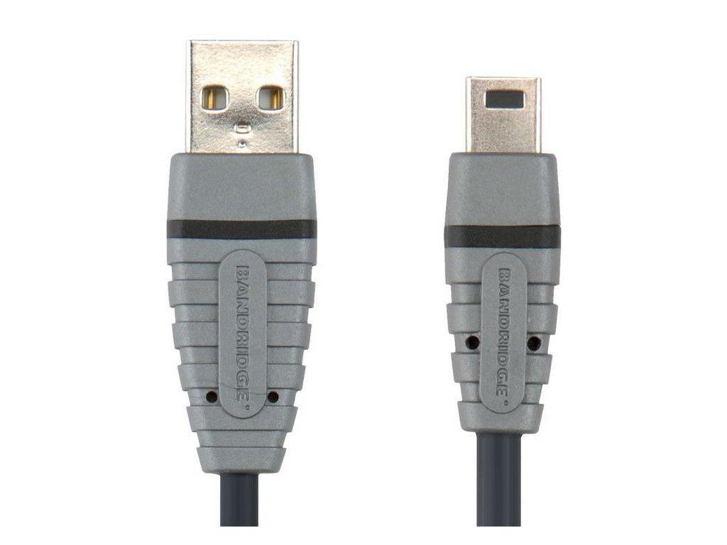 Bandridge USB mini kabel BCL4402