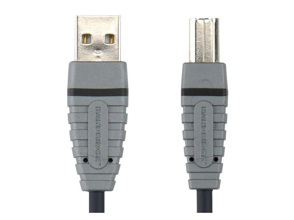 Bandridge USB 2.0 přístrojový kabel, 2m, BCL4102