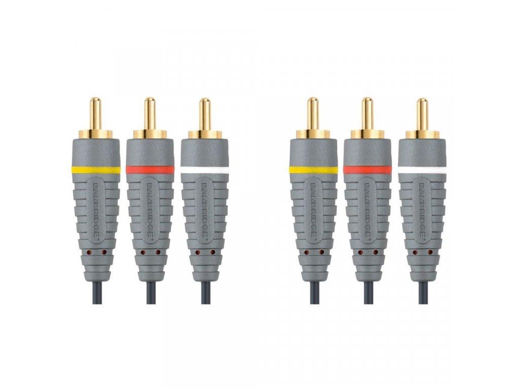Bandridge video kabel stereo, 2m, BVL5302