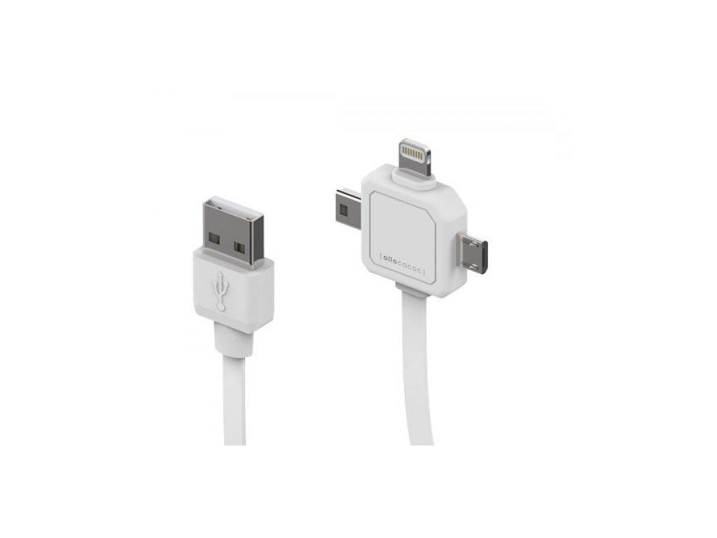 5767 powercube power usb cable nabijeci kabel miniusb microusb apple lightning
