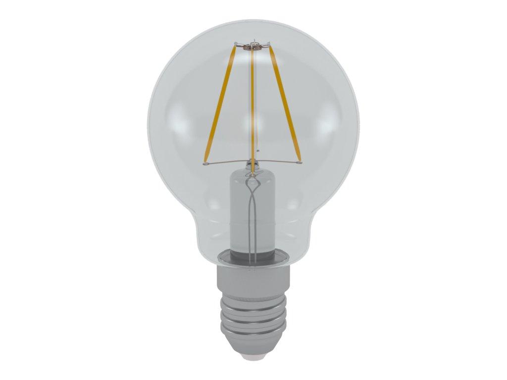 LED žárovka miniglobe čirá 4W E14 3000K WW SKYLIGHTING (MGFL-1404C)