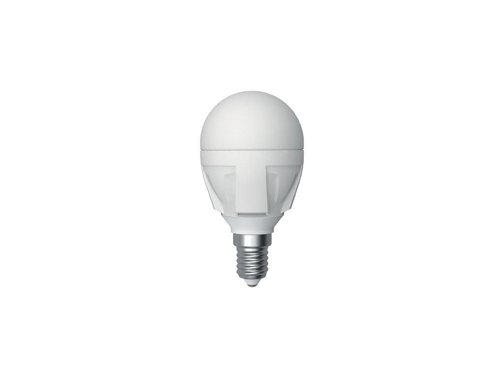 LED žárovka miniglobe 6W E14 6400K CW SKYLIGHTING (G45-1406F)