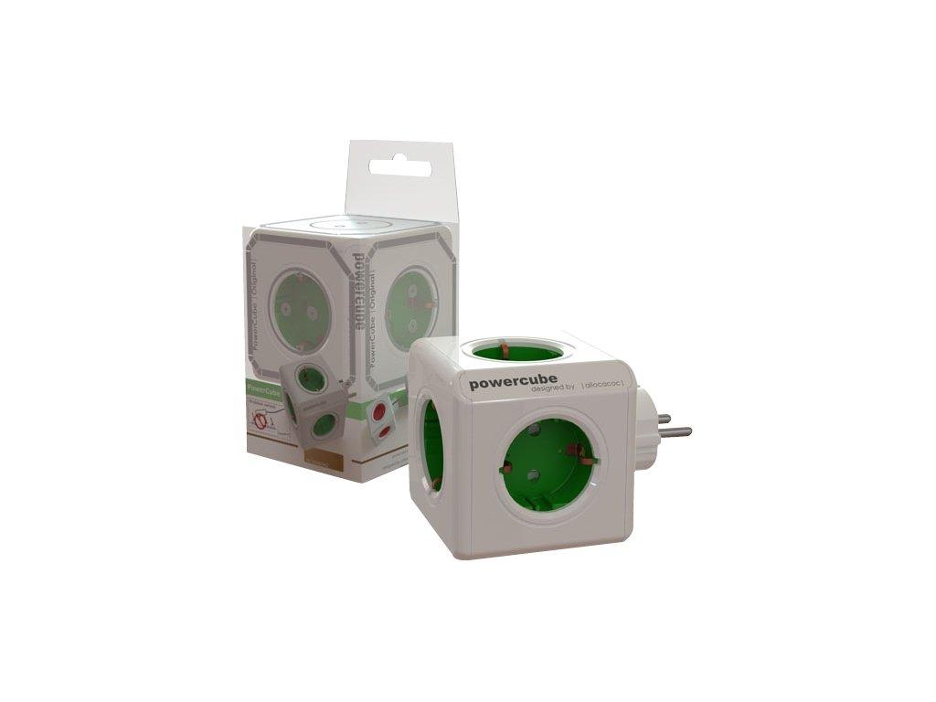PowerCube Original - 5 x zásuvka - šedá