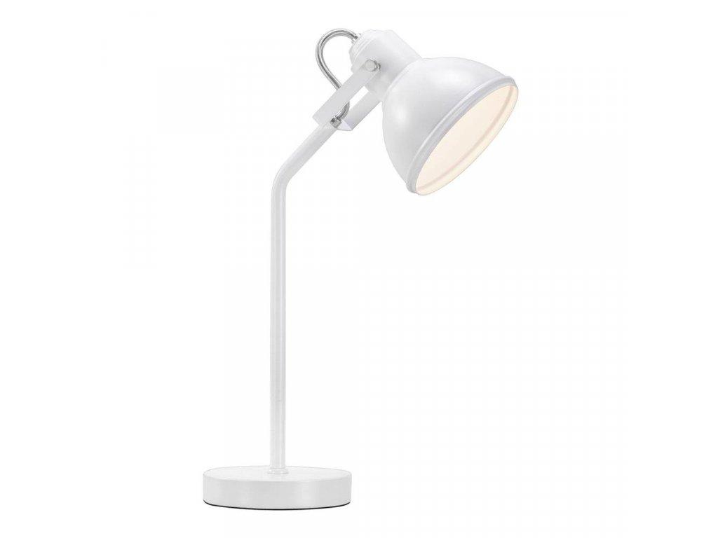 Stolní lampa Nordlux Aslak | Ø15 cm, bílá | 46685001