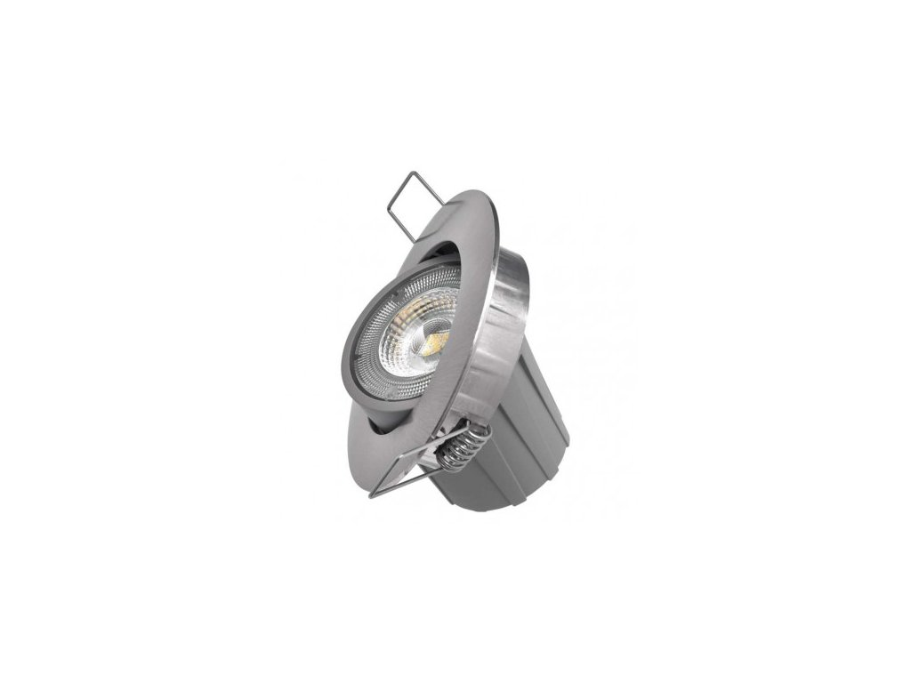 LED bodové svítidlo EXCLUSIVE - 8W WW - stříbrné - Emos (ZD3241)