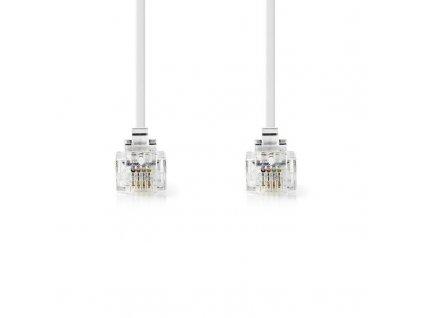 Bandridge VL telecom prodlužovací kabel, bílá, 2m, TCGP90200WT20