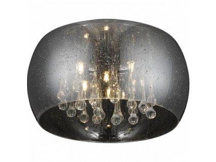 Stropní svítidlo RAIN 06X   Ø50cm, stříbrná   Zuma Line (C0076-06X-F4K9)
