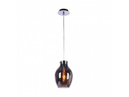 Závěsné svítidlo BRESSO 1C | Ø18cm, chromované sklo, chrom | Zuma Line (OYD-10231C-SP1)
