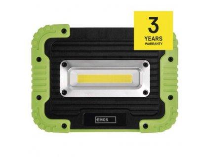COB LED nabíjecí pracovní reflektor - 1000lm, 4400mAh - Emos (P4533)