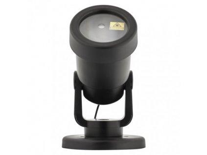 Laserový dekorativní projektor – zelené hvězdičky, venkovní - Emos (ZY2191)