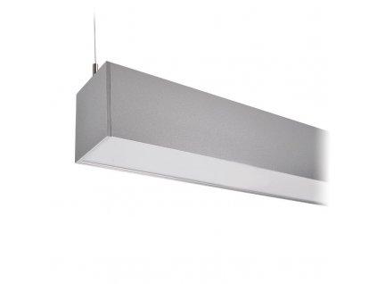 LED lineární závěsné osvětlení - 36W, 3060lm, 118cm, Lifud, 3 roky záruka, stříbrná barva - Solight (WPR-36W-001)
