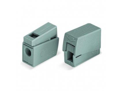 Spojovací svorka WAGO 224-101 - 2 x 2,5mm (max.), svítidlová, koncová
