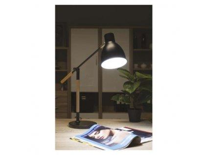 Stolní lampa WINSTON - černá, 1 x E27 - Emos (Z7605)