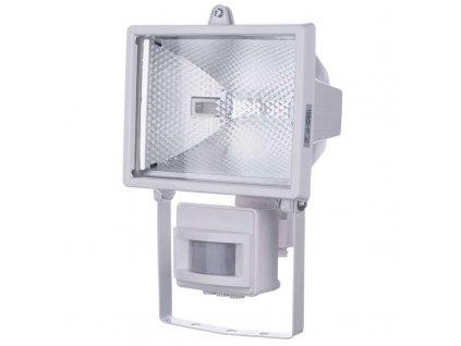 Halogenový reflektor 500W s PIR senzorem bílý