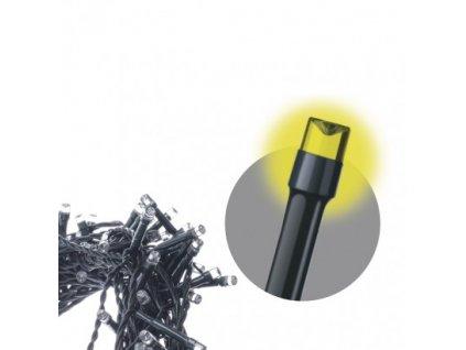 Spojovací LED řetěz - záclona - 100xLED, 1x2 metry, IP44, teplá bílá - Emos (ZY1442)