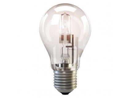 Halogenová žárovka ECO A55 42W E27 teplá bílá, stmívatelná