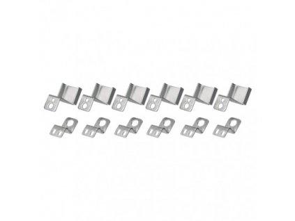 6 háčků pro LED panel 120 x 30 - Emos (ZR9011)