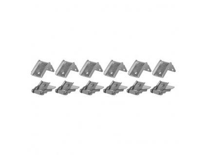 Set pružin pro LED panel 120 x 30 cm - 6 ks - Emos (ZR9002)