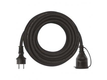 Prodlužovací kabel gumový spojka 10m, 3x1,5mm - Emos (P01710)