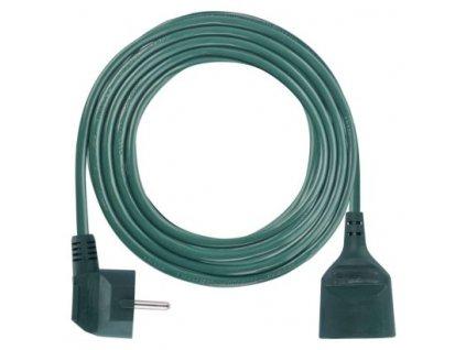 Prodlužovací přívod - spojka 5m, 3x1,0mm, zelená - Emos (P0115Z)