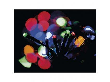 15684 5 vanocni led retez ryze 80xled 8 5 metru ip44 multicolor casovac emos zy0812t