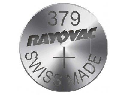 Knoflíková baterie do hodinek RAYOVAC 379 blistr