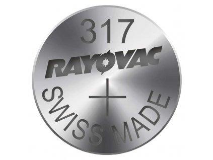 Knoflíková baterie do hodinek RAYOVAC 317 blistr