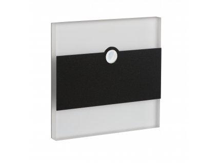 Dekorativní LED svítidlo s čidlem TERRA LED B (černá), NW (neutrální bílá), 12V, IP20 - Kanlux (29860)