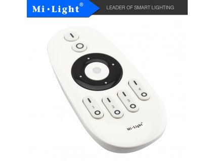 RF ovladač pro jednobarevné a CCT LED pásky - 4xCH, 2,4 GHz - dosah 30 metrů - MiBoxer (FUT007) - 01